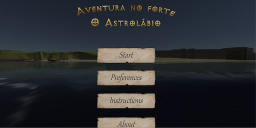 Adventure in the fortress - The Astrolabe - screenshot