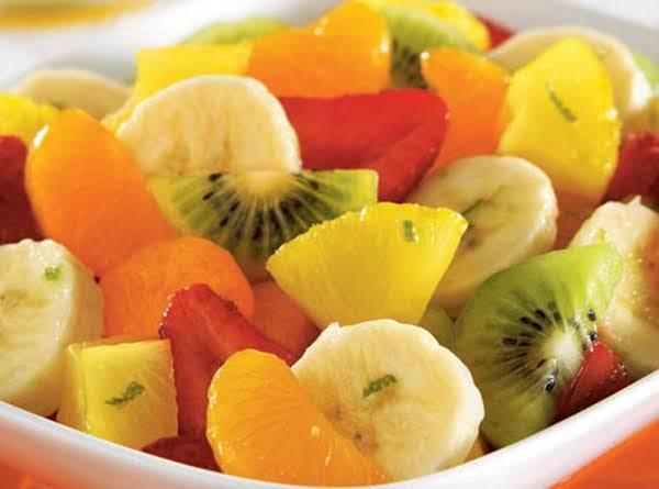 Honey-lime Fruit Toss Recipe
