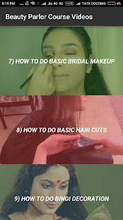 Beauty Parlor Course Videos - náhled