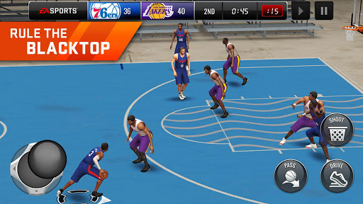 NBA LIVE Mobile Basketball  gameplay | by HackJr.Pw 9