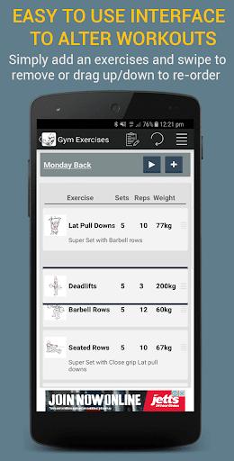 Gym Exercises 2.1 screenshots 2
