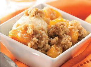 Ellen's Easy Peach Crisp Recipe