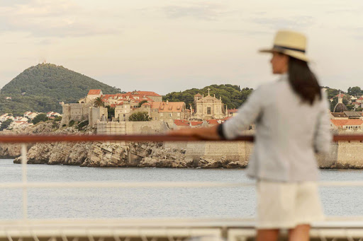 See Croatia and other charming destinations from the deck of the Ponant luxury yacht Le Lyrial.