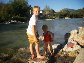 Photo: die Jungs haben viel Spaß am Strand