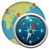Compass on GPS Maps