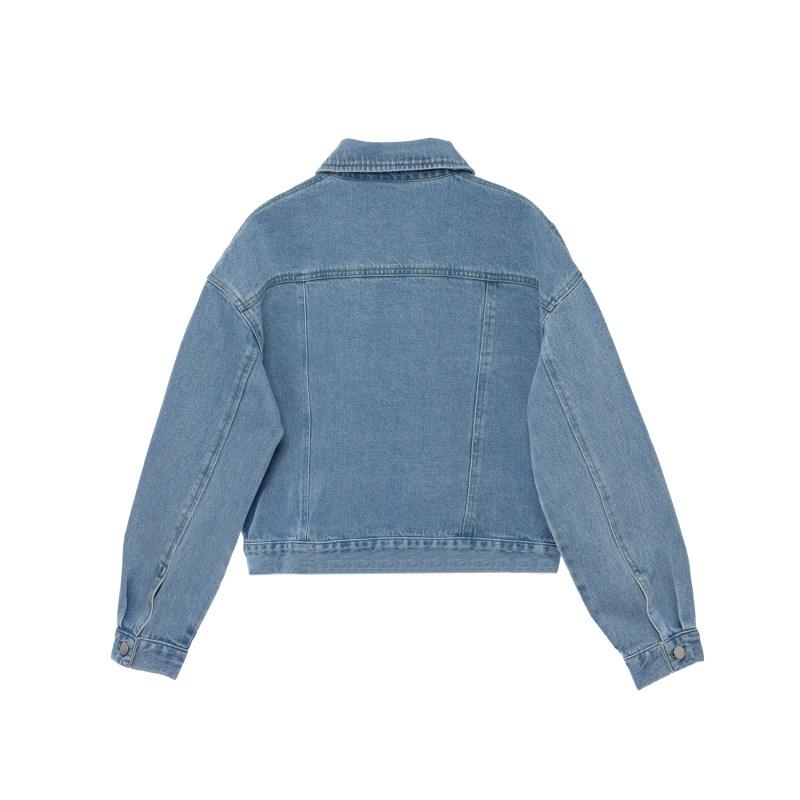 کت زنانه کوی مدل 210 رنگ روشن آبی