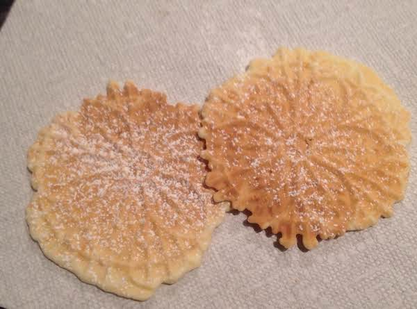 Pizzelles Gluten Free, A Real Treat!