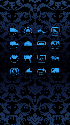A-BLUE Icon Pack ss3