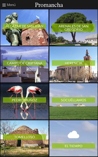 Guía turística Mancha Norte