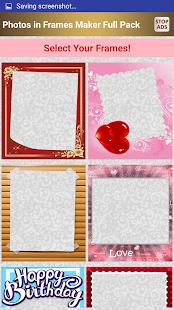 Photos in Frames Maker FULL - náhled