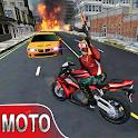 Moto Shooter Revenge 3d icon