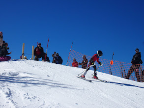 Photo: Individuals and Teams were both able to race in the Super G!