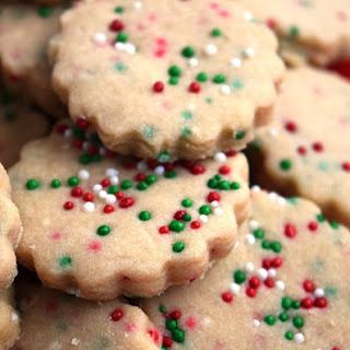 Three Ingredient Shortbread Cookie Dough Recipe