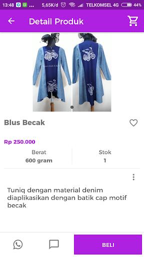 ... Yasmin Butik   Batik screenshot 3 ... cf0b593147