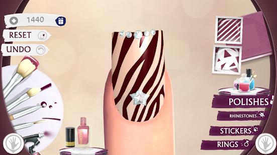 Nail Art Beauty Salon Game Diy Screenshot