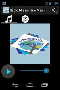 Rádio Missionária Mensagem da Cruz - náhled