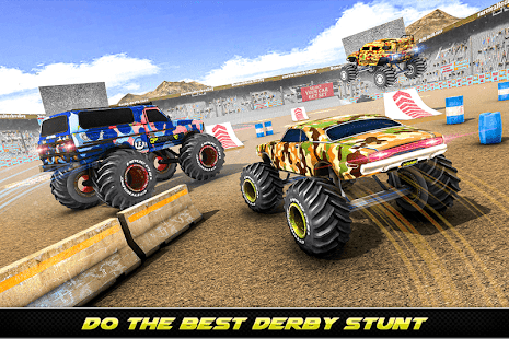 Army Monster Truck Demolition : Derby Games 2020 for PC-Windows 7,8,10 and Mac apk screenshot 9