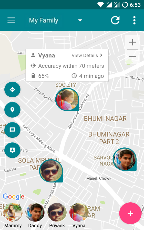 Family Safety and Locator- screenshot
