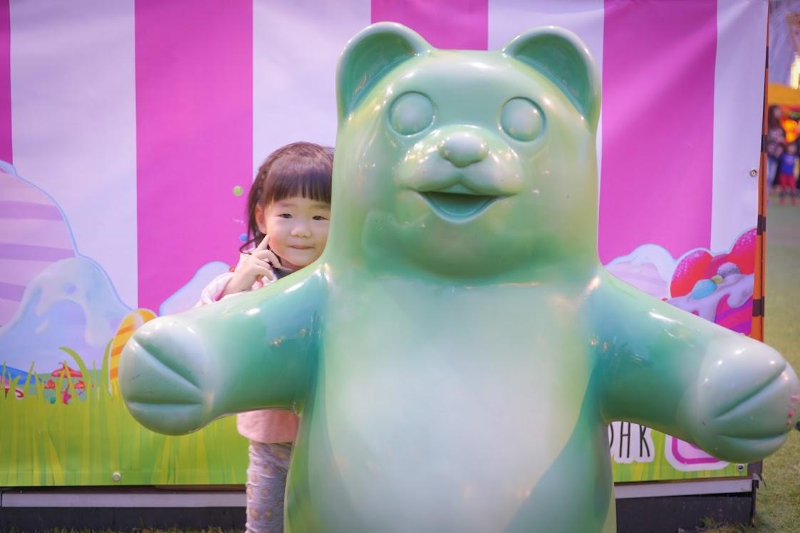 Giant Green gummy bear
