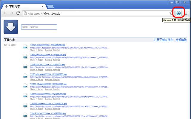 Chrome下载管理器