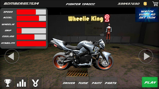 Motorbike - Wheelie King 2 - King of wheelie bikes 1.0 screenshots 11