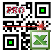 LoMag Data Scanner & Inventory. Barcodes to Excel 1.33 Icon