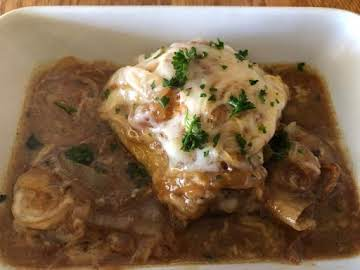 French Onion Chicken Thighs
