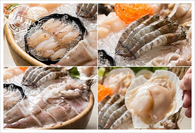 愛食鍋麻辣鴛鴦豪生食等級干貝