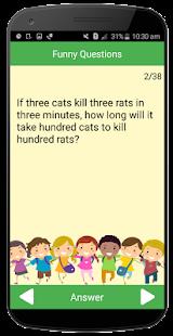 Funny Questions Screenshot Thumbnail