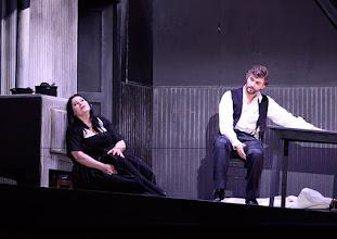 Photo: Salzburger Osterfestspiele 2015: CAVALLERIA RUSTICANA. Premiere 28.3.2015, Inszenierung: Philipp Stölzl.Liudmilla Monastyrska.  Jonas Kaufmann. Copyright: Barbara Zeininger