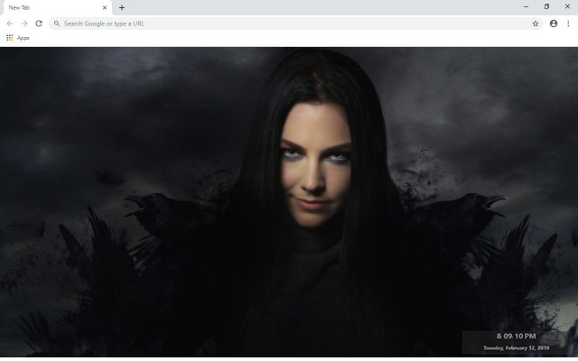 Amy Lee New Tab & Wallpapers Collection