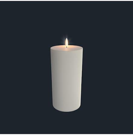 UYUNI Pelarljus LED - IVORY - 10,1 x 23,1 CM