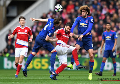 Middlesbrough-Manchester United: 1-3