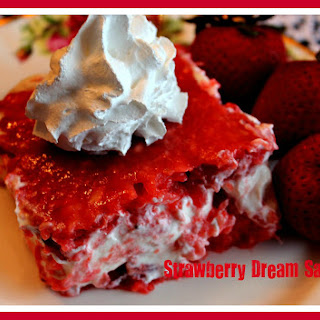 Strawberry Dream Salad!