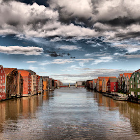 Trondheim Norway by Rey Vercide - Landscapes Travel