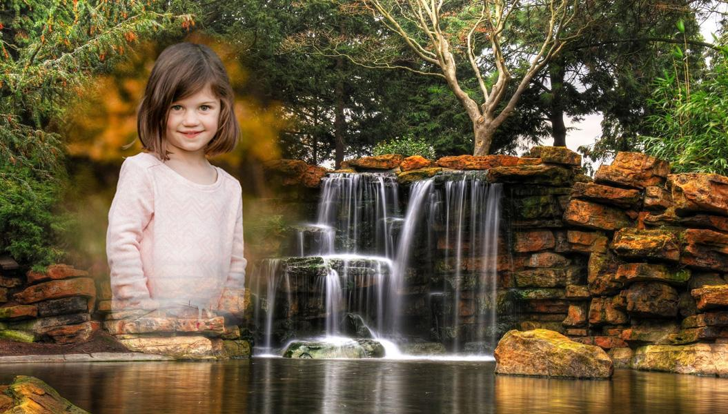 Waterfall Collage Photo Editor- screenshot
