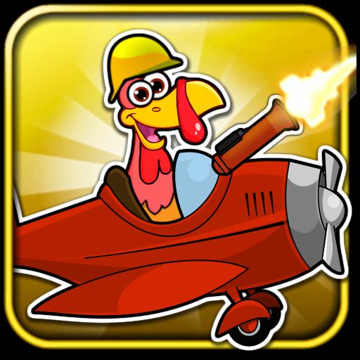 Crazy Turkey Run Shooting Game