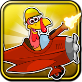 Crazy Turkey Run Shooting Game