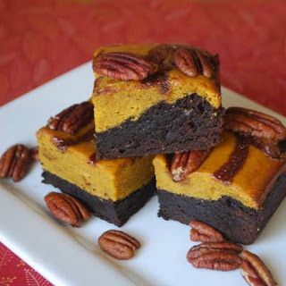 Pumpkin Pepper Brownies