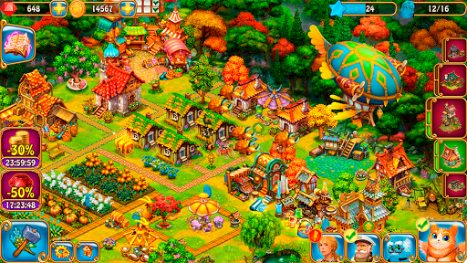 Charm Farm - Forest village android2mod screenshots 14