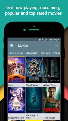 Movie-TV Show Guide (TMDb) 2.3 screenshots 1