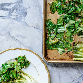Roasted Bok Choy.