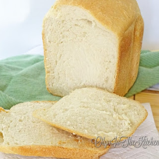 White Bread Machine Bread Recipe