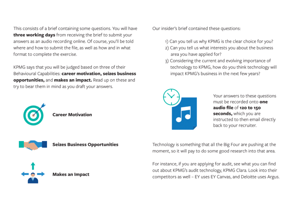 KPMG Interview Guide Excerpt - Chapter 4