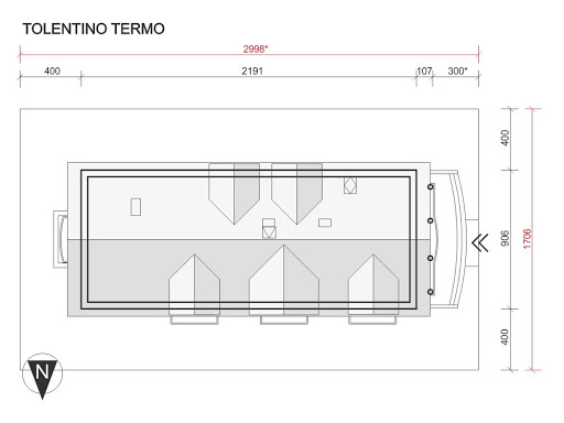 Tolentino Termo - Sytuacja