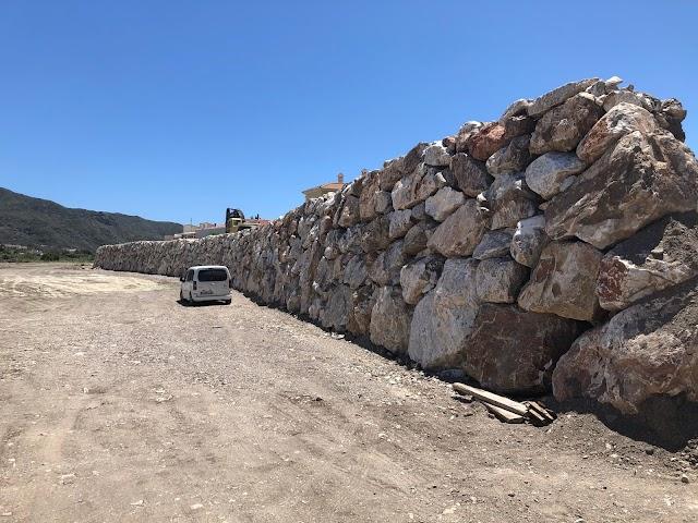 Rambla La Muleira, tras su restauración.