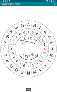 Caesar Cipher Disk- screenshot thumbnail