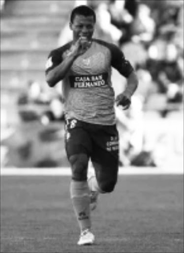 EAGER: Nigeria and Getafa striker Ikechukwu Uche hope to make first team selection after scoring against Real Madrid at the weekend. Cicra 2008. Pic. Unknown