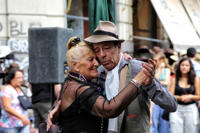Tango na ulicach Buenos Aires