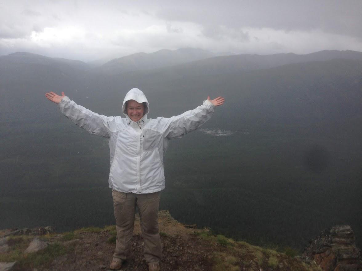 Top of Mt. Healy